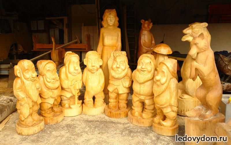Наши деревянные скульптуры
