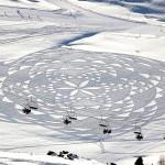 Снежные узоры от Симона Бека