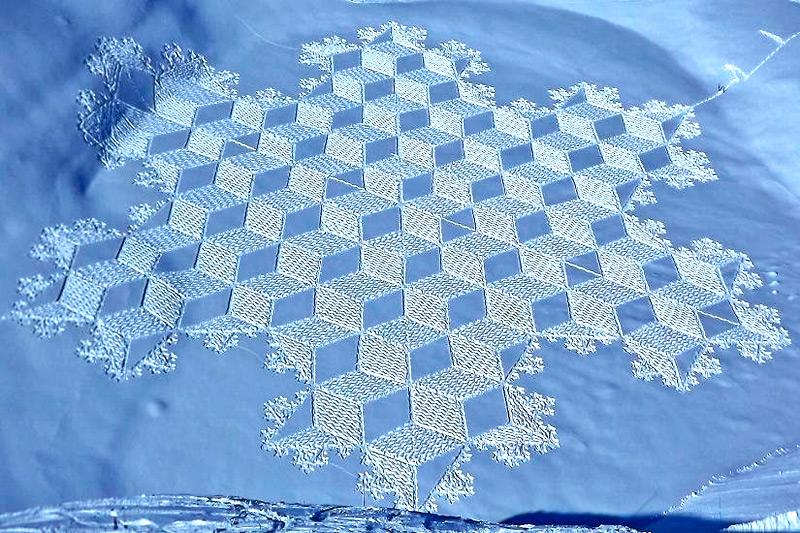 Снежные узоры Симона Бека