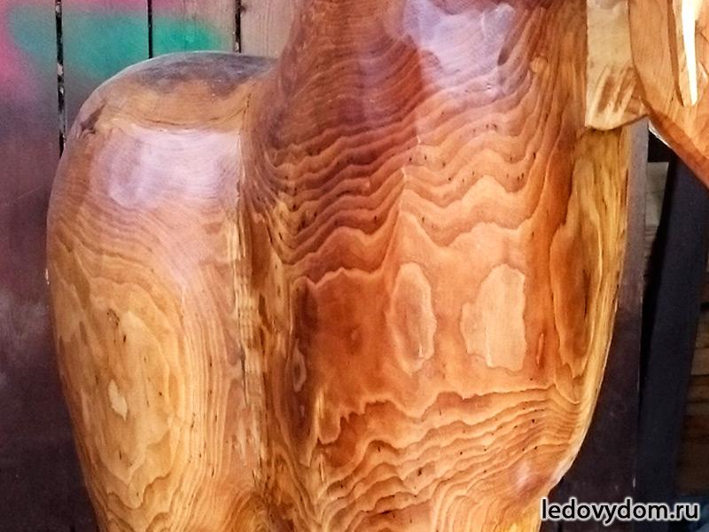 Красивая фактура дерева