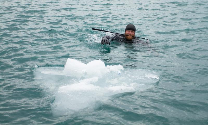 Гольф на льду