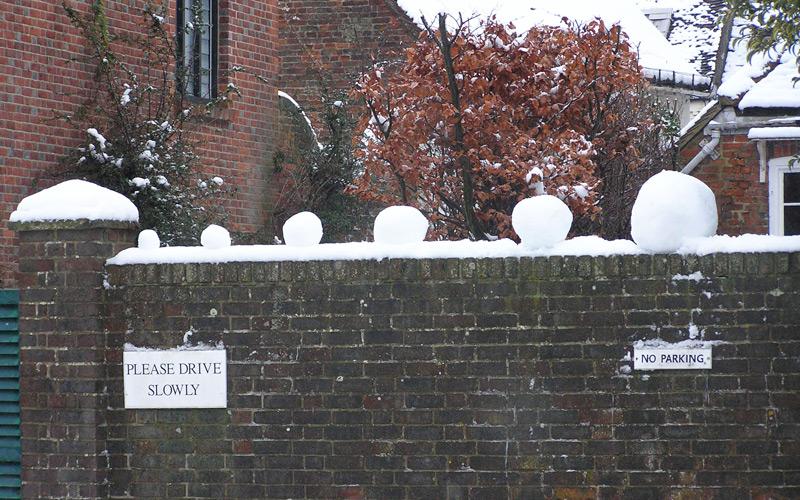 Снежная сигнализация