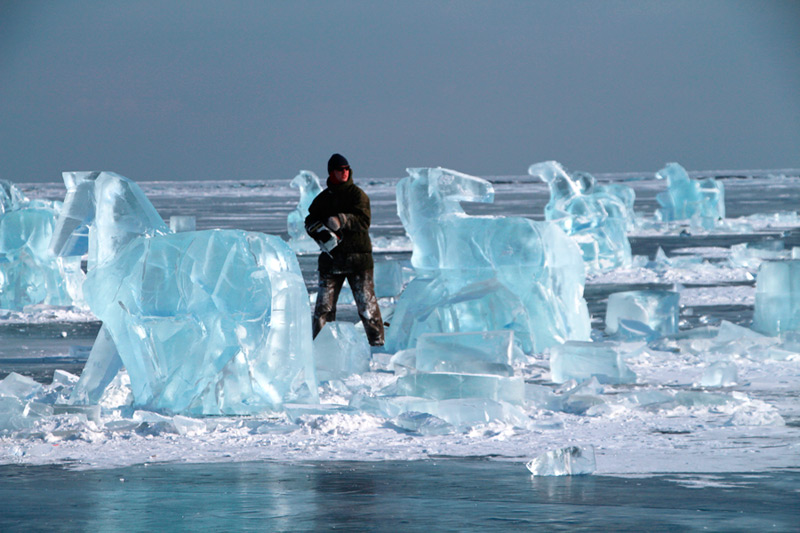 Создание ледяного табуна