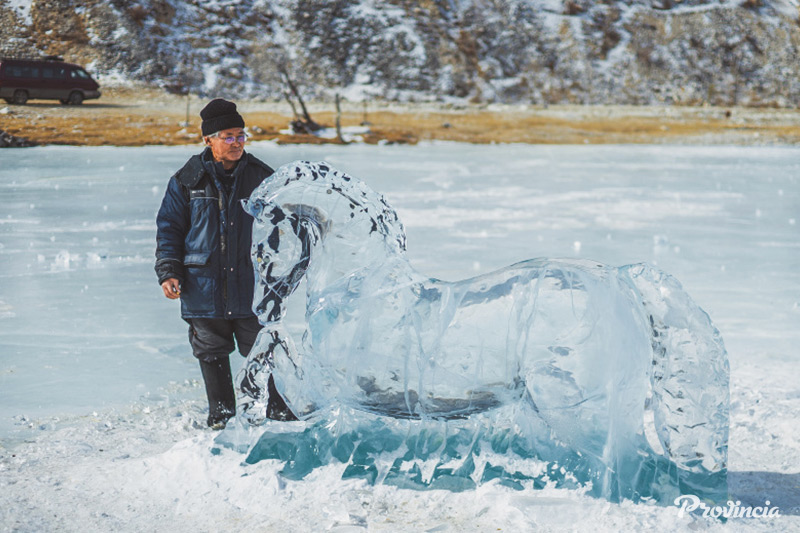 Каждая ледяная лошадь получила индивидуальные черты