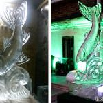 Ледяная скульптура Рыбка