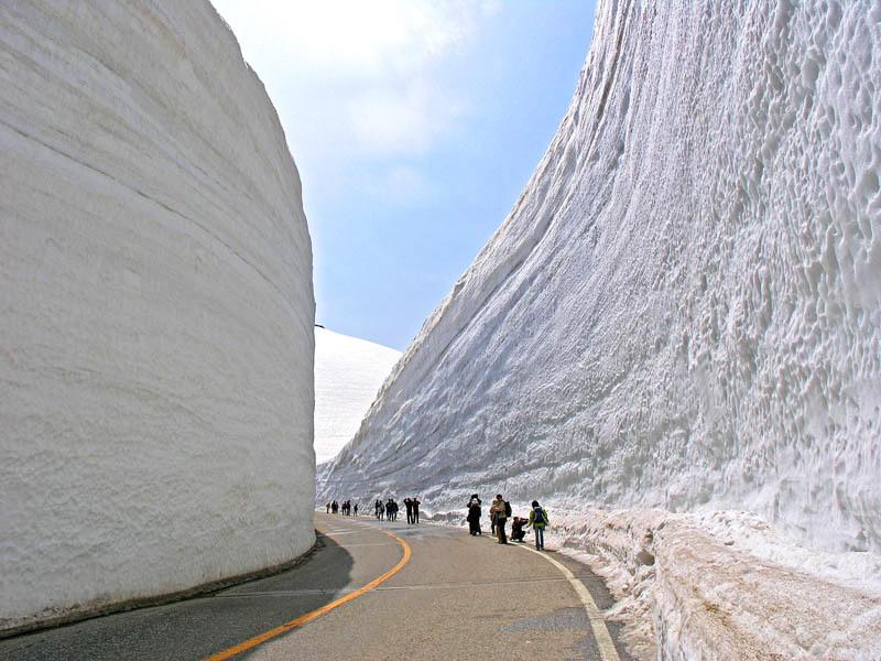 Снежные стены