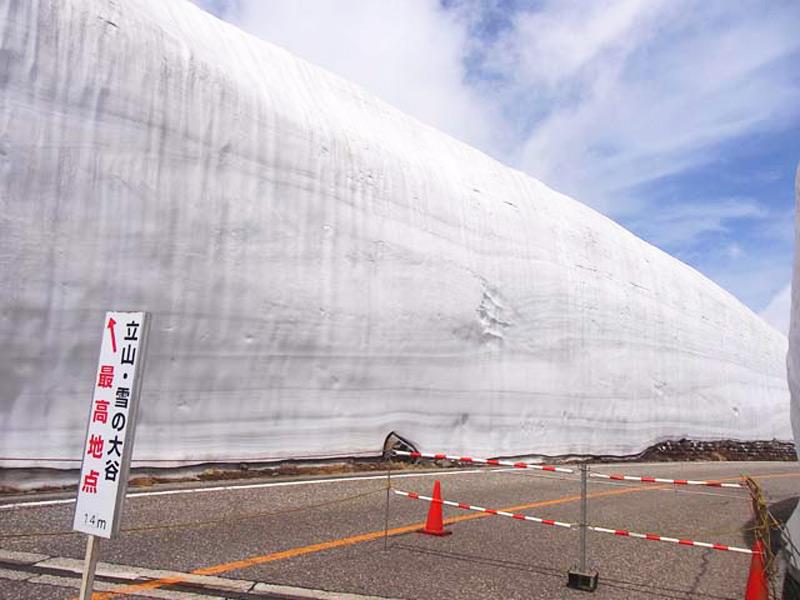 Удивительные снежные стены
