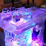 Ледяные бары с кленовыми листьями